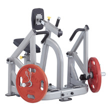 Seated Pull Down/Rowing Machine Steelflex PlateLoad Line PLSR - siva