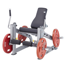 Leg Extension Machine Steelflex PlateLoad Line PLLE - siva