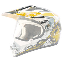 Replacement Visor for WORKER V340 Helmet - CAT-rumena