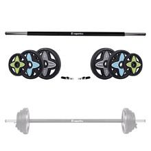 Body pump set uteži inSPORTline Pumpstar 2 - 20kg