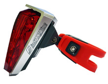 Rear flashing light 5 LED