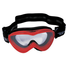 WORKER VG6920 Junior motorcycle glasses - rdeča