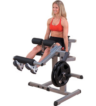 GCEC340  Body-Solid Leg Extension/Seated Leg Curl