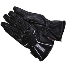 WORKER Perfect motorcycle gloves - črna