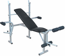 Bench press klopi inSPORTline Posilovací bench Light