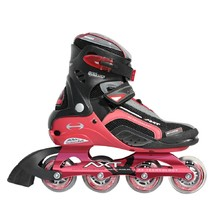 WORKER Twister in-line skates - rdeča