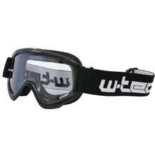 Junior motorcycles glasses W-TEC Benford - črna