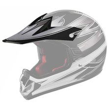 Replacement Visor for WORKER V310 Junior Helmet - črna