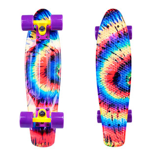 "Pennyboard WORKER Colory 22"" - Acid Rainbow (duhová)"