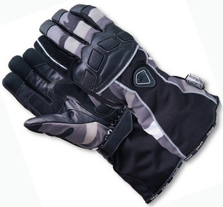 WORKER Hunter 15 motorcycle gloves - črna